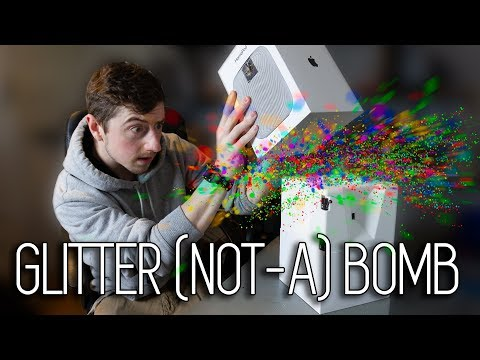 How was Mark Rober's Glitterbomb Made?