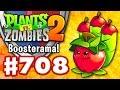 Apple Mortar Boosterama! Battlez! - Plants vs. Zombies 2 - Gameplay Walkthrough Part 708