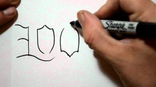 How to Draw an Ambigram - LOVE