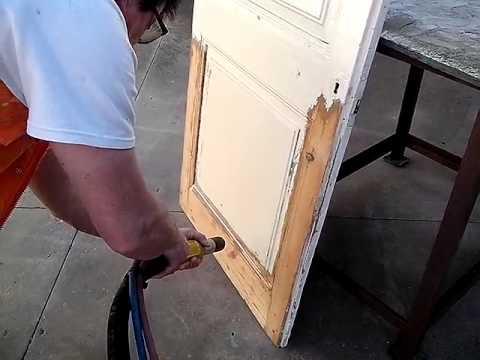 Decapados de madera y tratamientos youtube - Restaurar vigas de madera ...