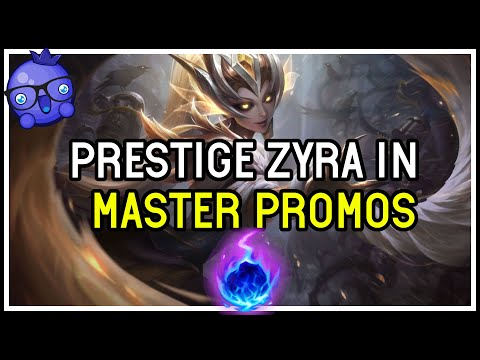 MASTER SUPPORT Promos - Prestige Coven Zyra - League of Legends