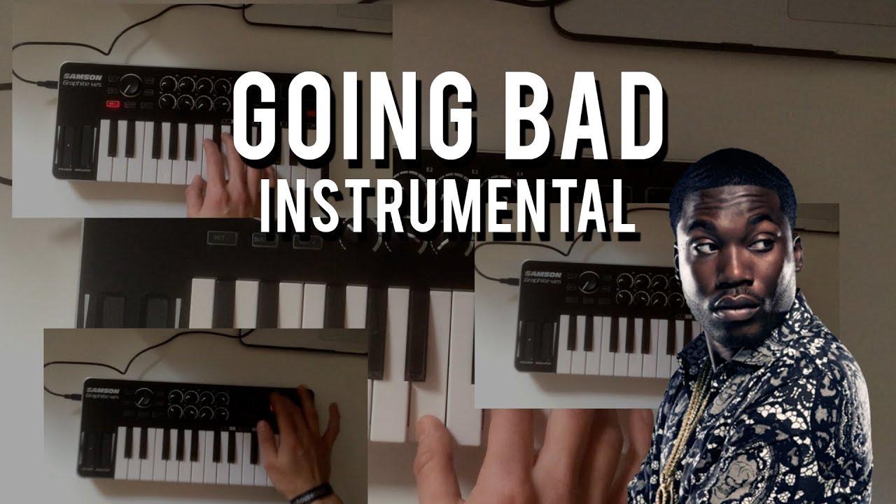 MEEK MILL ft. DRAKE - GOING BAD (Instrumental) image