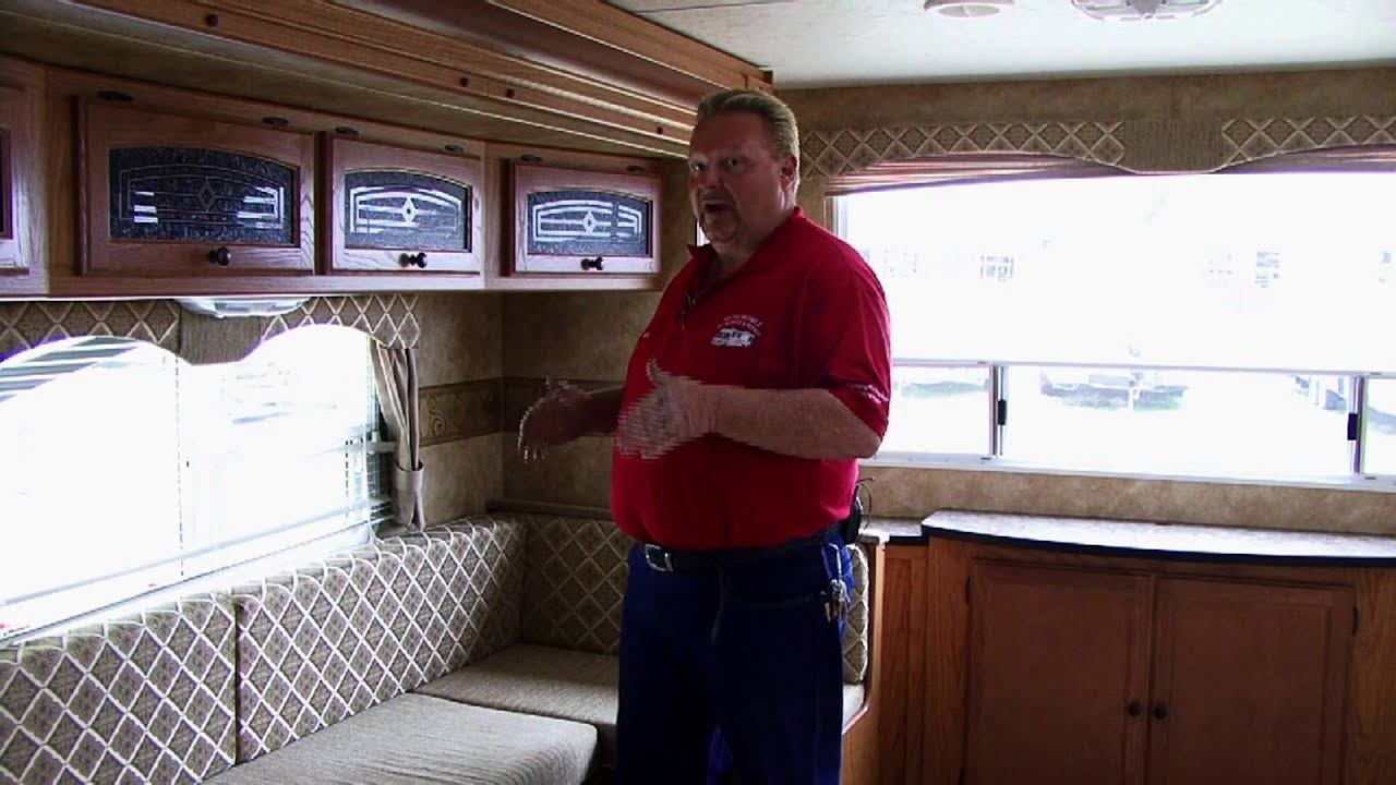 RV Repair : How To Replace RV Dining Furniture   YouTube