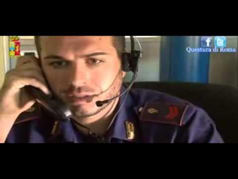Sala operativa 113 di roma in un video le chiamate alla for Polizia di stato roma permesso di soggiorno