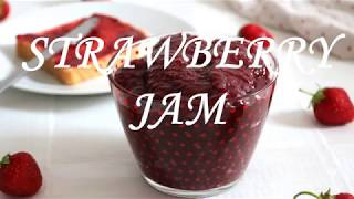 How to make Strawberry jam with honey | How to make Strawberry jam without sugar
