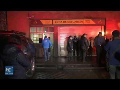 3 killed, 9 injured in Bogota shopping mall blast