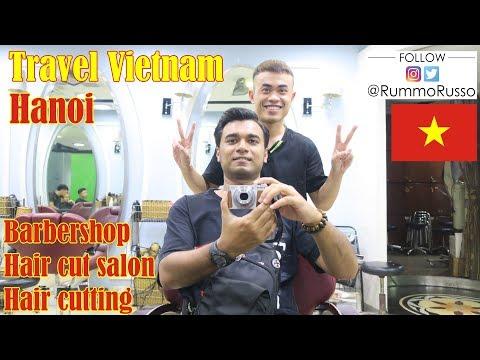 Vietnam Barbershop, Hair Cut Salon, Hair Cutting, Hanoi