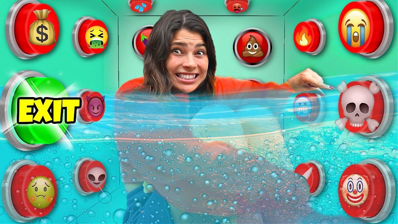Download Onder Water 100 Mystery Knoppen.. Slechts 1 Laat Je ONTSNAPPEN! *Challenge* #331