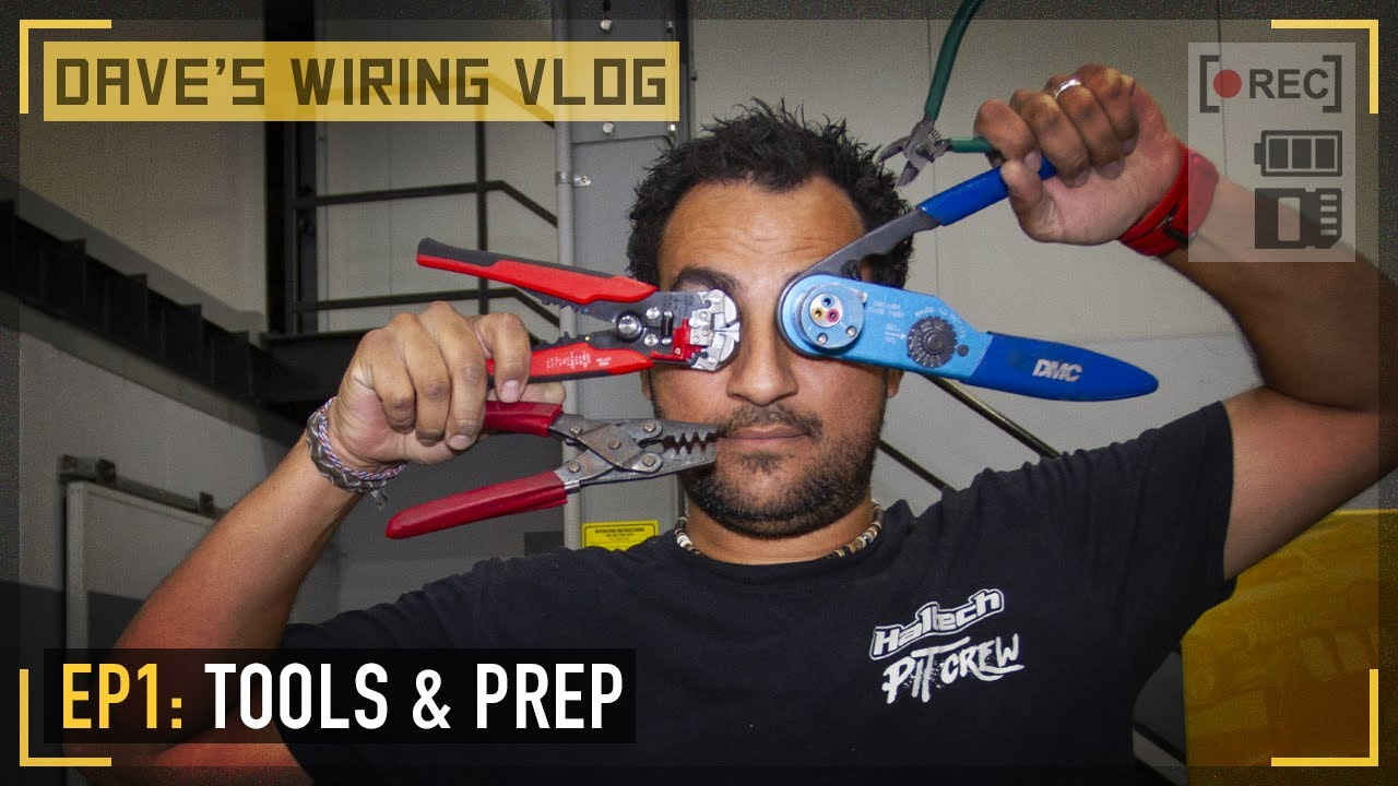 Download 🎥 Ep1: The car, the wiring tools and the harness prep   DAVE'S WIRING VLOG