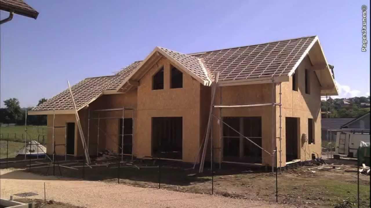 Idea maisons bois et chalets soares sillingy en haute for Constructeur maison en bois haute saone