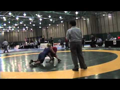 2009 Junior National Championships: 59 kg Jasmine Pelham vs. Liz Sera