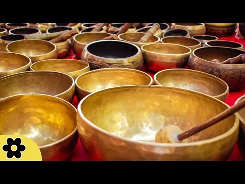 6 Hour Deep Healing Tibetan Bowl Music: Nature Sounds, Relaxing Music, Calming Music �C