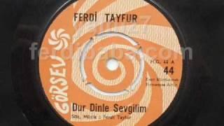 Ferdi Tayfur - Dur Dinle Sevgilim - Görsev Plak 44 A (orjinal Plak)