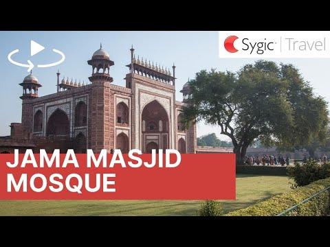 360 video: Jama Masjid Mosque, Agra, India