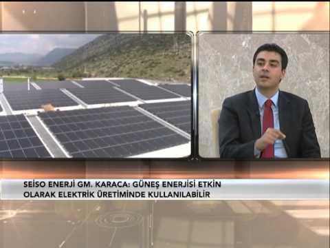 500 kWp Mercan Mermer Güneş Santrali - Seiso Enerji AŞ. PART 1