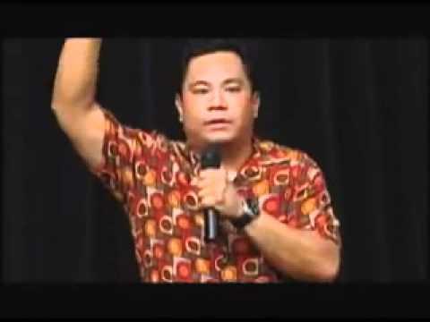 Funny Filipino Comedian  - Rex Navarette  - Fil-Am Business Journal - hehehehe