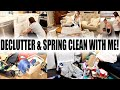 EXTREME SPRING CLEAN WITH ME 2019   MAJOR DECLUTTERING + CLEANING MOTIVATION