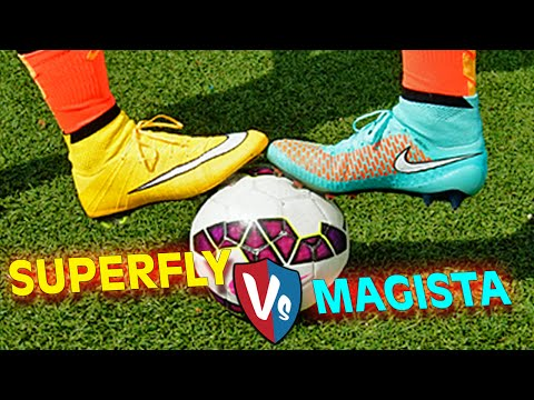 Ultimate Nike Superfly CR7 Vs. Magista Obra - Test & Review