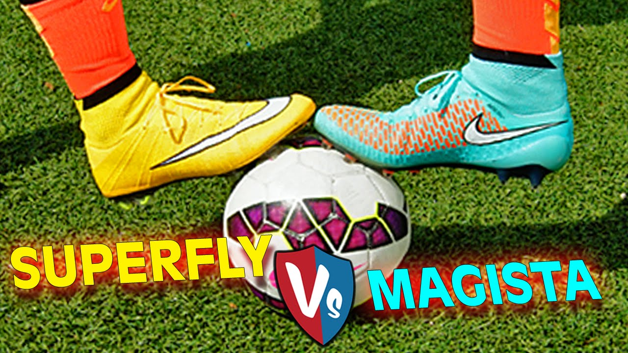 486ddc0c2f6 Ultimate Nike Superfly CR7 vs. Magista Obra - Test   Review - YouTube