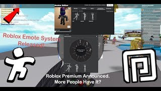 Roblox Releases Emotes for Good This Time | New Roblox Premium Information