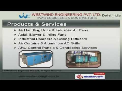 Air Handling and Air Terminal Devices by Westwind Engineers Pvt. Ltd., New Delhi