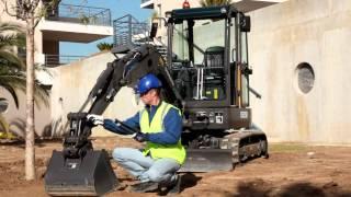 Download lagu New short radius compact excavator ECR25D MP3