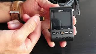 How to update the firmware on the VIOFO A129 duo dash cam step by step