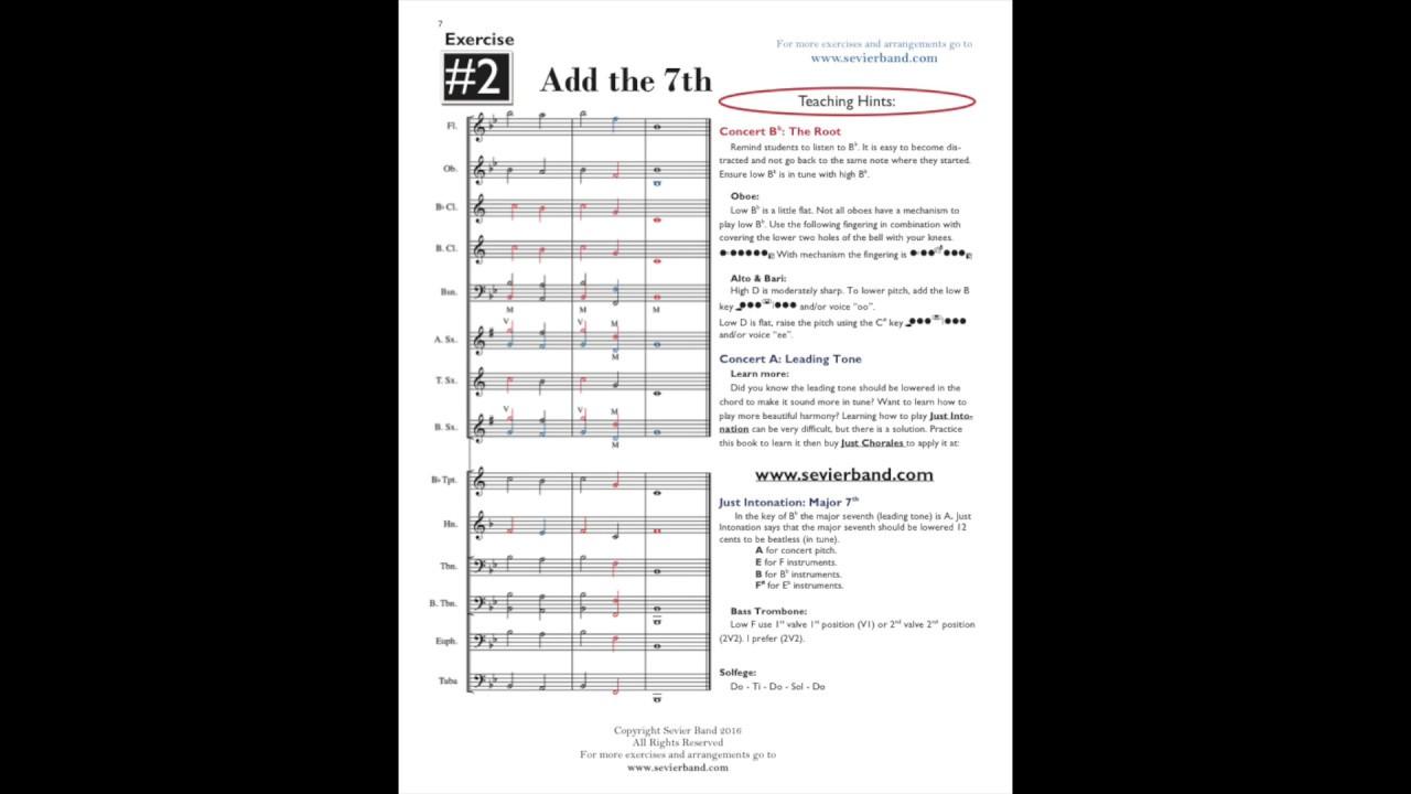 5 ways to Make Teaching Intonation Fun  - Sevier Band