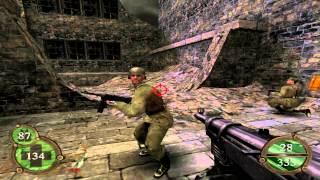 Return To Castle Wolfenstein Walkthrough Operation Resurrection - Part 23 ( Bombed Factory ) PS2
