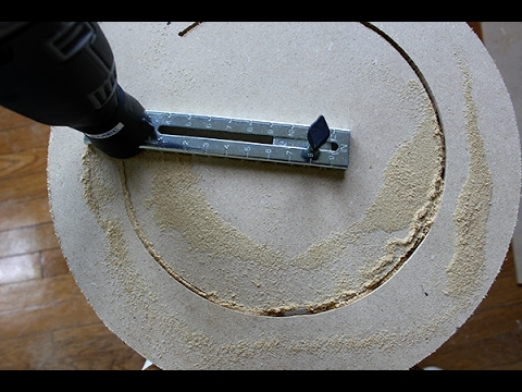 How to cut wood circles?