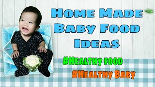 Healthy baby food ideas | Purees | Juices | Vegetables