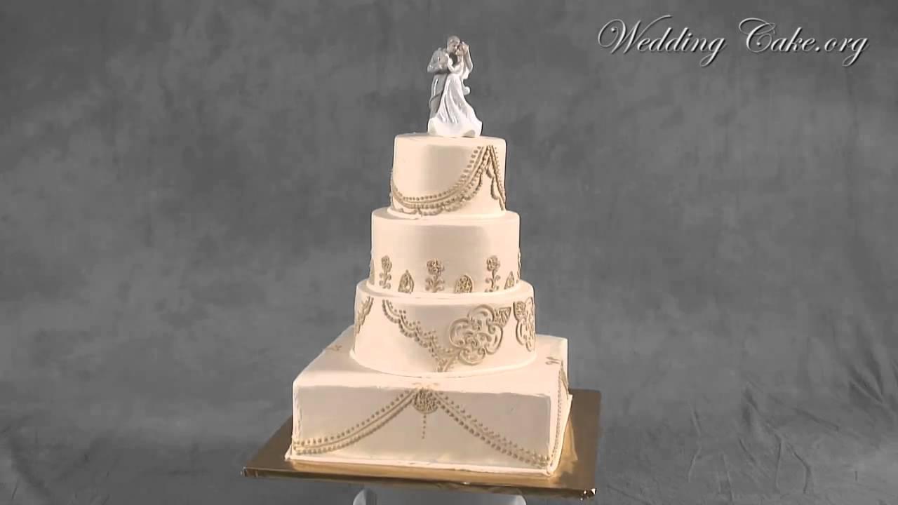 Elegant wedding cakes Vintage wedding cakes Elegance YouTube