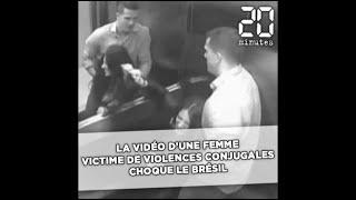 La vidéo d'une femme victime de violences conjugales choque le Brésil
