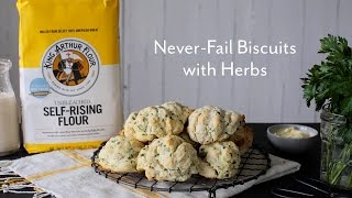 Never-Fail Biscuits with Herbs