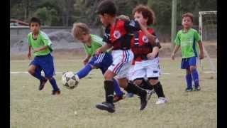 Partido  Futbol SUB 6 Colegio  Las Colinas vs Rio Claro 7 feb 2014