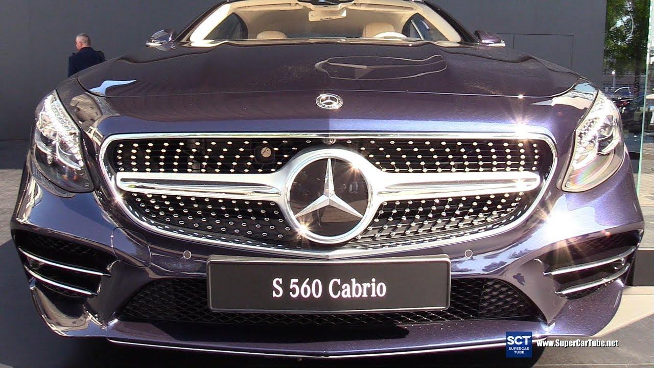 2019 Mercedes Benz S 560 Cabriolet - Exterior Interior Walkaround - 2019 IAA Frankfurt Auto Show