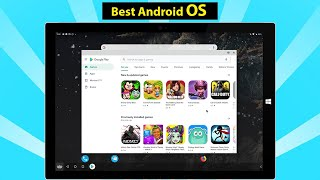 Best Android OS for Laptop/Desktop Computer - Bliss OS v11