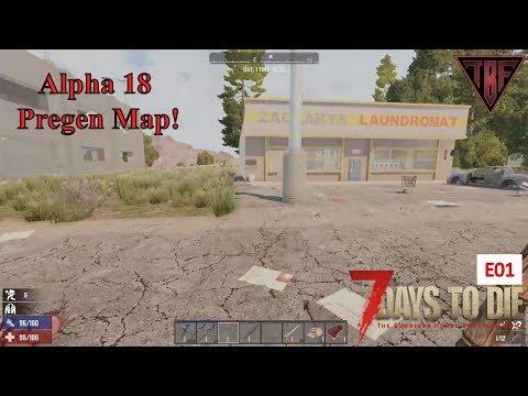 Iron Spear E03 7 Days To Die Alpha 18 7d2d A18 Pregen Map 01
