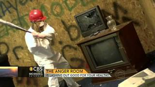 """Anger room"" truly a good outlet for anger?"