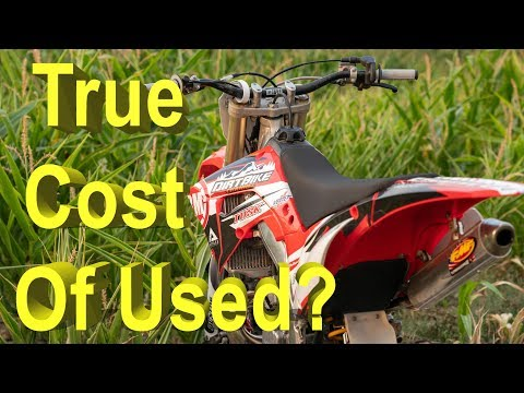 Used honda dirt bike for sale near me