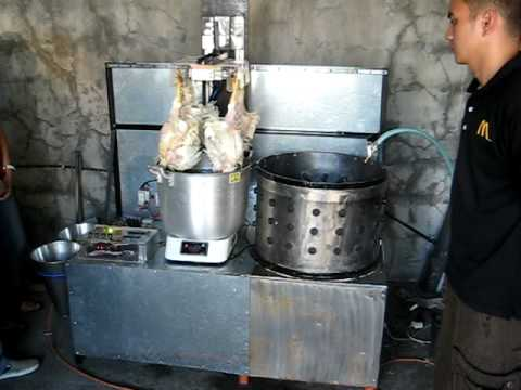 Plc Based Poultry Dressing Machine Youtube