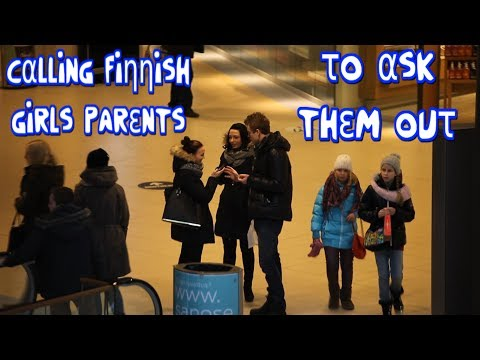 Calling Finnish Girls' Parents To Ask Them Out #edgemania