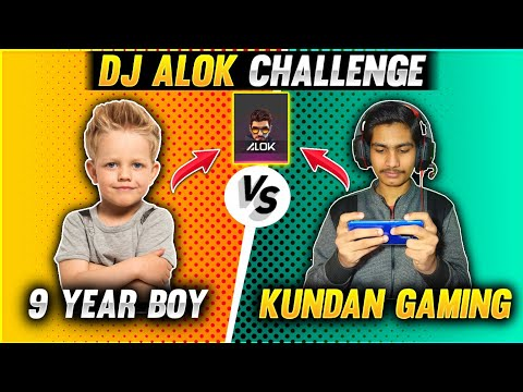 9 Year My Small Brother vs Kundan Gaming || 1 vs 1 Dj Alok Challenge Clash Squad – Garena Free Fire