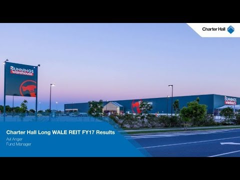 Charter Hall Long WALE REIT FY17 Results