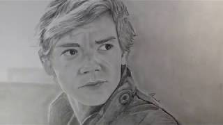 NEWT - The Death Cure Speed Drawing