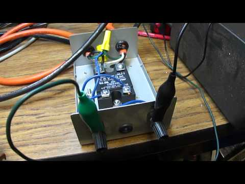 Solid-State Relay Control Unit For Electric Heater
