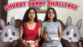 CHUBBY BUNNY CHALLENGE/ CASI ME VOMITO / KENIA PARRA