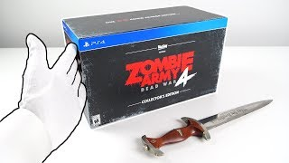 Zombie Army 4: Dead War Collector's Edition Unboxing [Sold Out] + PC Gameplay