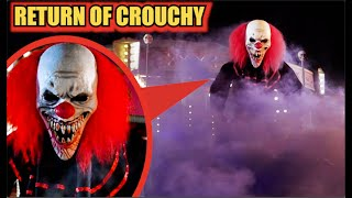 THE RETURN of CROUCHY The GIANT Clown! (He's Back!)
