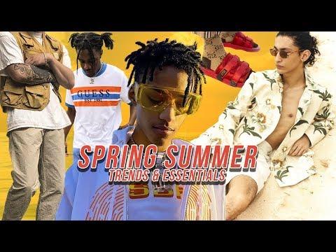 SPRING SUMMER 2019 Fashion Trends   Men's Spring/Summer Fashion Essentials